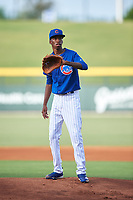 AZL Cubs 1 starting pitcher Benjamin Rodriguez (70) during an Arizona League game against the AZL D-backs on July 25, 2019 at Sloan Park in Mesa, Arizona. The AZL D-backs defeated the AZL Cubs 1 3-2. (Zachary Lucy/Four Seam Images)