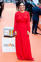 Actress Cristina Plazas attends to orange carpet of 'Estoy Vivo' during FestVal in Vitoria, Spain. September 04, 2018. (ALTERPHOTOS/Borja B.Hojas) /NortePhoto.com NORTEPHOTOMEXICO