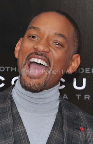 New York,NY-December 16 : Will Smith attends the 'Concussion' New York Premiere at AMC Loews Lincoln Square on December 16, 2015 in New York City. Credit: John Palmer/MediaPunch