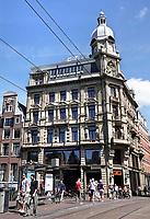 Nederland Amsterdam 2018. Leidsestraat. Abercrombie & Fitch in het oude Metz & Co pand. Foto Berlinda van Dam / Hollande Hoogte