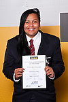 Girls Rugby Union winner Re Kura Ngata-Aerengamate from Rutherford College. ASB College Sport Auckland Secondary School Young Sports Person of the Year Awards held at Eden Park on Thursday 12th of September 2009.
