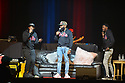 MIAMI, FL - DECEMBER 15: Comedian Karlous Miller, Chico Bean and DC Young Fly perform on stage during the 85 South improvs roasting and freestyles comedy show at James L. Knight Center on December 15, 2019 in Miami, Florida.  ( Photo by Johnny Louis / jlnphotography.com )
