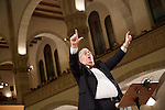 20.12.2015, Berlin Synagoge Rykestraße. Grand Final Concert of all choirs at the Louis Lewandowsky Festival for synagogal music. London Cantorial Singers