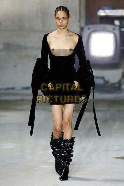 SAINT LAURENT<br /> at Paris Fashion Week FW 17 18<br /> in Paris, France on February 28, 2017.<br /> CAP/GOL<br /> &copy;GOL/Capital Pictures