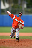 Bowling Green Falcons pitcher Jason Link (34) during a game against the Illinois State Redbirds on March 11, 2015 at Chain of Lakes Stadium in Winter Haven, Florida.  Illinois State defeated Bowling Green 8-7.  (Mike Janes/Four Seam Images)