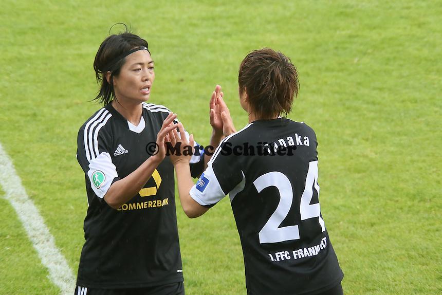 Kozue Ando und Asuna Tanaka (FFC) - 1. FFC Frankfurt vs. MSV Duisburg