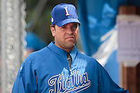 30 july 2010: Hitting coach of Italy Mike Piazza is seen during Italy 9-2 win over France, in day 6 of the 2010 European Championship Seniors, at TV Cannstatt ballpark, in Stuttgart, Germany.