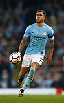 Kyle Walker of Manchester City in action during the Premier League match at the Eithad Stadium, Manchester. Picture date 21st August 2017. Picture credit should read: Simon Bellis/Sportimage