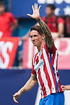 Fernando Torres of Atletico de Madrid celebrates his goal  during their La Liga match between Atletico de Madrid vs Athletic de Bilbao at the Estadio Vicente Calderon on 21 May 2017 in Madrid, Spain. Photo by Diego Gonzalez Souto / Power Sport Images