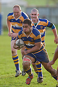 I. Maasi heads upfield. Counties Manukau Rugby Union Premier round 7  game between Patumahoe & Karaka played at Patumahoe on May 26th 2007. Karaka led 5 - 3 at halftime and went on to win 12 - 3.