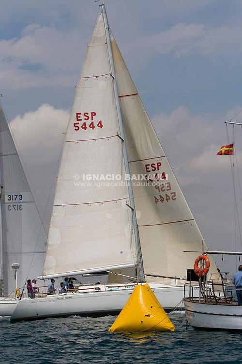 ESP5444 PELUXO DECIMO ALFONSO ARMERO LOPEZ R.C.N. VALENCIA FIRST 40.7 REG .XI Trofeo Universidad Politécnica de Valencia - 17-18 Mayo 2008 - Real Club Náutico de Valencia, Valencia, España / Spain