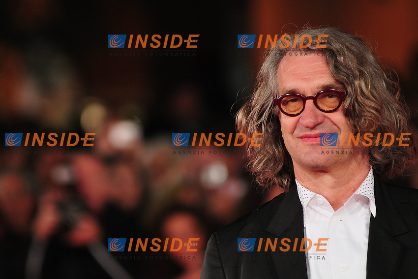 Third edition of the Rome International film festival<br /> Wim Wenders <br /> Roma 23/10/2008 <br /> Red Carpet '8'<br /> Photo &copy; Luca Cavallari Insidefoto