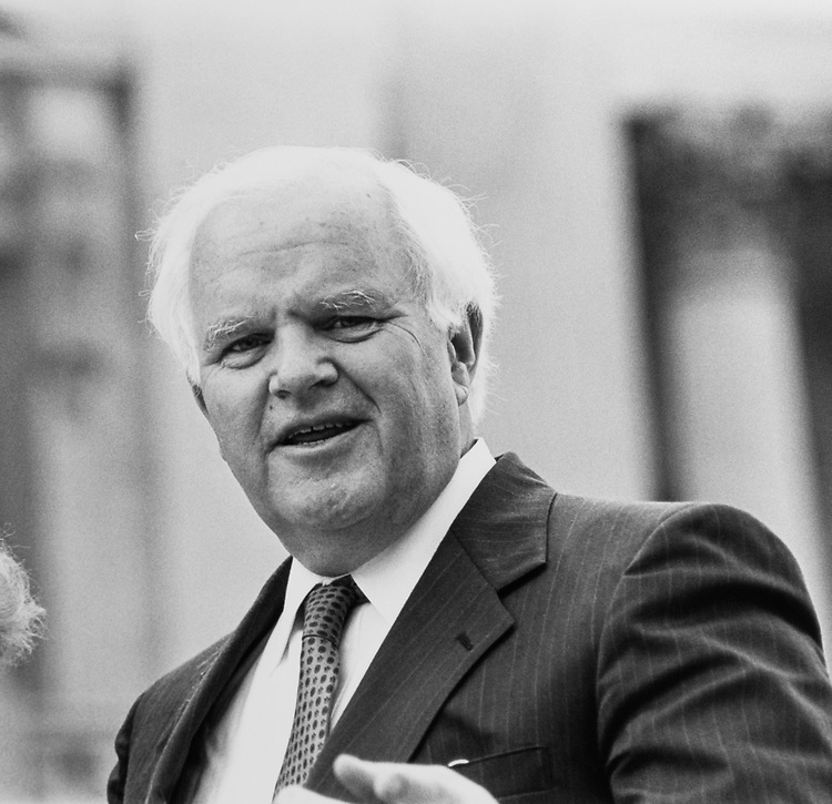 Rep. Joseph M. McDade, R-Pa., on June 11, 1992. (Photo by Maureen Keating/CQ Roll Call)