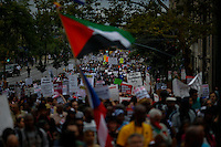 People march against police brutality in Staten Island. 08.23.2014. Eduardo Munoz Alvarez/VIEWpress