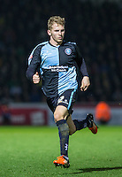 Jason McCarthy of Wycombe Wanderers during the Sky Bet League 2 match between Wycombe Wanderers and Oxford United at Adams Park, High Wycombe, England on 19 December 2015. Photo by Andy Rowland.