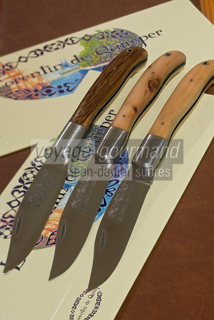 Europe/France/Bretagne/29/Finistère/Quimper: Couteau de Poche-Le Corentin de Quimper de la Coutellerie de Quimper
