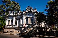 Araxa_MG, Brasil...Casarao Historico em Araxa, Minas Gerais...Historical Old House in Araxa, Minas Gerais...Foto: LEO DRUMOND / NITRO