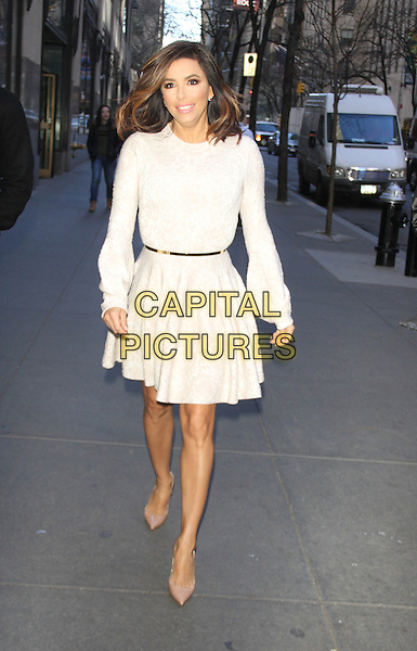 NEW YORK, NY - JANUARY 4: Eva Longoria at NBC's Today Show promoting her new NBC TV series Telenovela on January 4, 2016 in New York City.<br /> CAP/MPI/RW<br /> &copy;RW/MPI/Capital Pictures