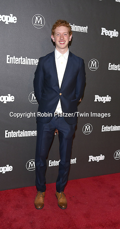 Niall Cuningham of &quot;Life in Pieces&quot;attends the Entertainment Weekly &amp; PEOPLE Magazine New York Upfronts Celebration on May 16, 2016 at Cedar Lake in New York, New York, USA.<br /> <br /> photo by Robin Platzer/Twin Images<br />  <br /> phone number 212-935-0770
