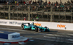 Oliver Turvey of Great Britain from NIO Formula E Team competes in the FIA Formula E Hong Kong 2017 E-Prix Round 1 at the Central Harbourfront Circuit on 02 December 2017 in Hong Kong, Hong Kong. Photo by Marcio Rodrigo Machado / Power Sport Images