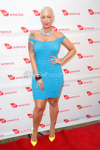 Amber Rose at the launch party celebrating Virgin America's first flight to Philadelphia at the Hotel Palomar in Philadelphia, PA. April 4, 2012. © Star Shooter/MediaPunch Inc.