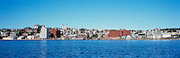 St. John's, Newfoundland and Labrador, Canada - Downtown City Skyline along the Harbour - Panoramic View