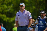Graeme McDowell (NIR) heads down 18 during Round 2 of the Zurich Classic of New Orl, TPC Louisiana, Avondale, Louisiana, USA. 4/27/2018.<br /> Picture: Golffile | Ken Murray<br /> <br /> <br /> All photo usage must carry mandatory copyright credit (&copy; Golffile | Ken Murray)