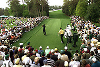 6th April 2001; Augusta, GA, USA; Tiger Woods in Action at the The Masters golf tournament