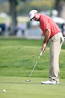 02/15/14 Pacific Palisades, CA: Robert Garrigus during the third round of the Northern Trust Open held at the Riviera Country Club.