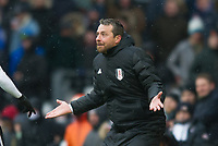 Fulham's manager Slavisa Jokanovic  during the Sky Bet Championship match between Fulham and Queens Park Rangers at Craven Cottage, London, England on 17 March 2018. Photo by Andrew Aleksiejczuk / PRiME Media Images.