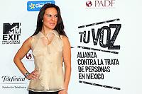 Mexico,DF.- La actriz mexicana Kate del Castillo, vocera de la Comisión Nacional de Derechos Humanos (CNDH), durante la presentación del documental 'Esclavos Invisibles', en el cual se  busca concienciar y prevenir la trata y explotación de personas en Latinoamérica, Kate del Castillo se une a la fundacion MTV EXIT como lo hizo Calle 13 a finales del año pasado, para acabar con este grave problema..Foto: Jose Hernandez/ zenitimages /NortePhoto.com<br /> <br /> **CREDITO*OBLIGATORIO** *No*Venta*A*Terceros*<br /> *No*Sale*So*third* ***No*Se*Permite*Hacer Archivo***No*Sale*So*third*