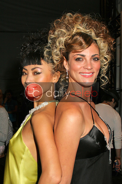 Bai Ling and Carolina Bacardi