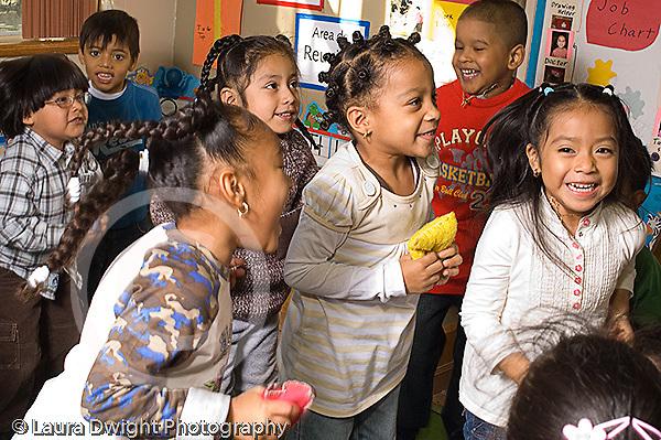Preschool music dance activity