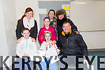 Rebecca O Connor,Lucy O Connor,Paul O Connor,Fiona O Connor,Grace O Connor,Louise O Connor and Anne Lyons at the  Rock Street and Caherslee Community games held in Mercy Mounthawk school on Saturday