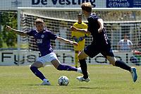 APPINGEDAM - Voetbal, DVC Appingedam - FC Groningen, voorbereiding seizoen 2019--2020, 29-06-2019,  FC Groningen speler Django Warmerdam