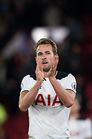 Tottenham Hotspur's Harry Kane applauds the fans at full time     <br /> <br /> <br /> Photographer Craig Mercer/CameraSport<br /> <br /> The Premier League - Crystal Palace v Tottenham Hotspur - Wednesday 26th April 2017 - Selhurst Park - London<br /> <br /> World Copyright &copy; 2017 CameraSport. All rights reserved. 43 Linden Ave. Countesthorpe. Leicester. England. LE8 5PG - Tel: +44 (0) 116 277 4147 - admin@camerasport.com - www.camerasport.com