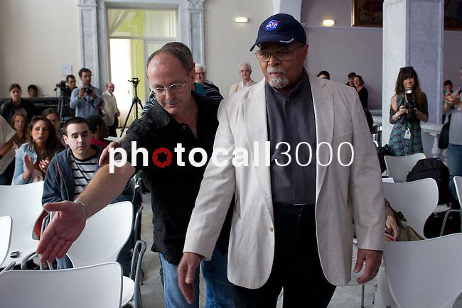 Jimmy Cobb en el 47 Heineken Jazzaldia 2012