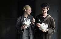 How to Talk to Girls at Parties (2017) <br /> Elle Fanning &amp; Alex Sharp<br /> *Filmstill - Editorial Use Only*<br /> CAP/MFS<br /> Image supplied by Capital Pictures