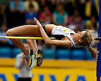 Photo: Richard Lane/Richard Lane Photography..Aviva World Trials & UK Championships athletics. 12/07/2009. Jayne Nisbet  during the women's high jump.