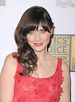 Zooey Deschanel attends The 2nd Annual Critics' Choice Television Awards  held at The Beverly Hilton in Beverly Hills, California on June 18,2012                                                                               © 2012 DVS / Hollywood Press Agency