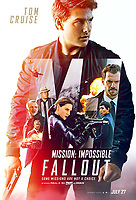 Mission: Impossible - Fallout (2018) <br /> POSTER ART <br /> *Filmstill - Editorial Use Only*<br /> CAP/MFS<br /> Image supplied by Capital Pictures