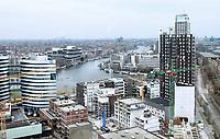 Nederland - Amsterdam - 24 maart 2018.  Bouwwerkzaamheden in het Amstelkwartier.   Foto Berlinda van Dam Hollandse Hoogte
