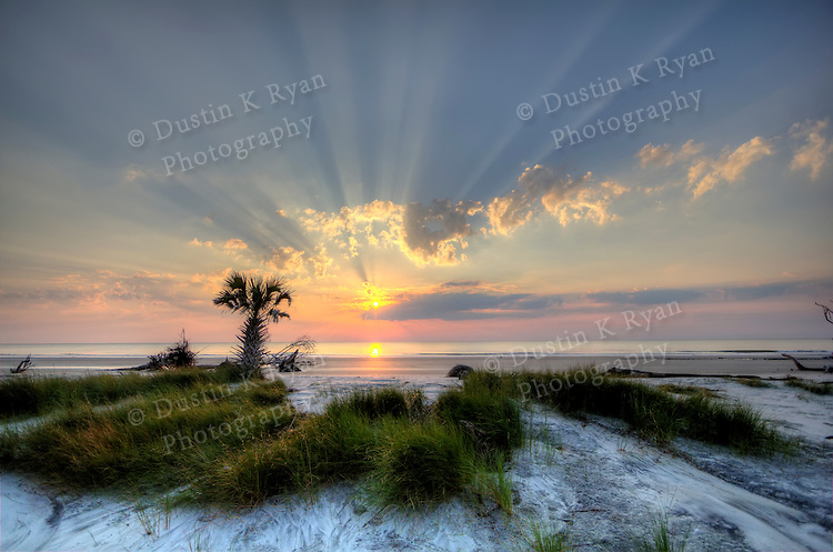 Hunting Island Beach Sunrise