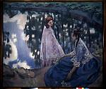 Borisov-Musatov, Viktor Elpidiforovich (1870-1905)\ State Tretyakov Gallery, Moscow\ 1902\ 177x216\ Oil on canvas\ Symbolism\ Russia\ Landscape,Genre\