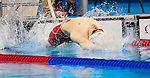 Gordie Michie, of St. Thomas, ON, competes in the men's 100m backstroke S14 classification heats at the Olympic Aquatics Stadium during the Paralympic Games in Rio de Janeiro, Brazil, on September 8, 2016.