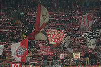Fans des 1. FC Köln - 18.12.2019: Eintracht Frankfurt vs. 1. FC Koeln, Commerzbank Arena, 16. Spieltag<br /> DISCLAIMER: DFL regulations prohibit any use of photographs as image sequences and/or quasi-video.