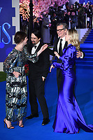 LONDON, UK. December 12, 2018: Lin-Manuel Miranda, Emily Mortimer, Emily Blunt &amp; Colin Firth at the UK premiere of &quot;Mary Poppins Returns&quot; at the Royal Albert Hall, London.<br /> Picture: Steve Vas/Featureflash