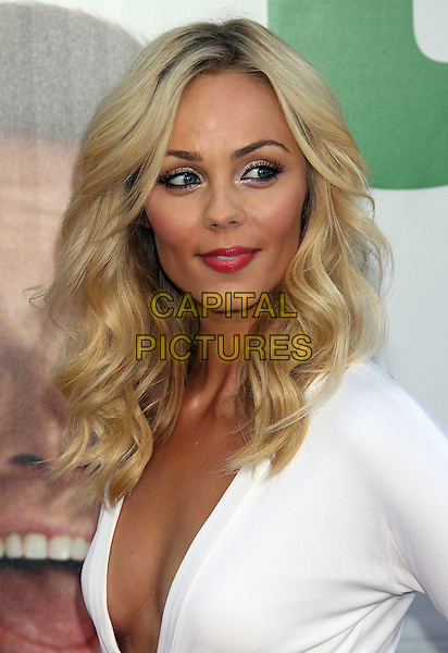 Laura Vandervoort.The L.A. Premiere of 'Ted' held at The Grauman's Chinese Theatre in Hollywood, California, USA..June 21st, 2012.headshot portrait white plunging neckline cleavage .CAP/ADM/RE.©Russ Elliot/AdMedia/Capital Pictures.