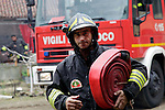 incendio stupinigi ( ph andrjea retsek / apr news