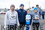 Danny O'Sullivan, Kelly, Mark and Ciara Fitzgerald   attending the Kerins O'Rahilly's 10k Run/Walk in honour of local running legend John Griffin on Sunday morning last.